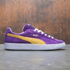 Puma Men Suede Classic - Made In Japan Collectors (purple / yellow)