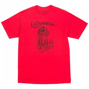 La Carrera Men The King Rides Again Tee - Mexico (red / black)
