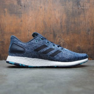 Adidas Men PureBOOST DPR LTD (white / core black / vapor blue)