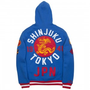 Iro Ochi Men Dragon Hoody (blue)