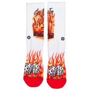 Stance Men Airbrushed Hell Socks (red)