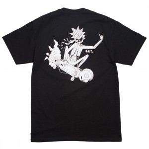 BAIT x Rick and Morty Men Skateboard Tee (black)