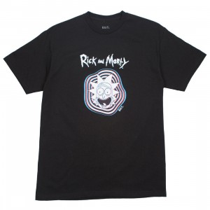 BAIT x Rick and Morty Men Psychedelic Trippy Tee (black)