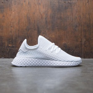 Adidas Big Kids Deerupt Runner J (white / footwear white)