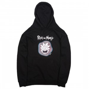 BAIT x Rick and Morty Men Psychedelic Trippy Hoody (black)