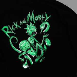 BAIT x Rick and Morty Men Tentacles Glow In The Dark Hoody (black)