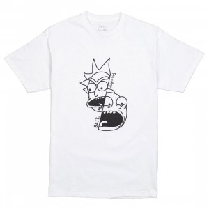 BAIT x Rick and Morty Men Split Tee (white)