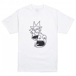 BAIT x Rick and Morty Men Split Tee (white)
