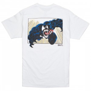 BAIT x Marvel Venom Men Comic Tee (white)