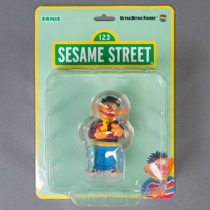 Medicom Sesame Street Ernie UDF Ultra Detail Figure (orange)