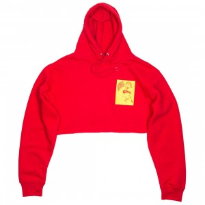 Dimepiece x Soto Gang Women Cropped Hoody (red)