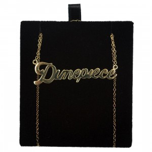 Dimepiece Classic Logo Necklace (gold)
