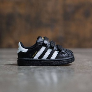 Adidas Toddlers Superstar Foundation (black / footwear white / core black)