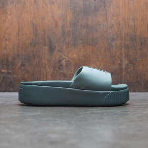 Puma Women Platform Slide (green)