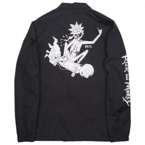 BAIT x Rick and Morty Men Skateboard Coaches Jacket (black)