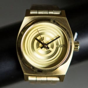 Nixon x Star Wars Small Time Teller Watch - C3PO (gold)