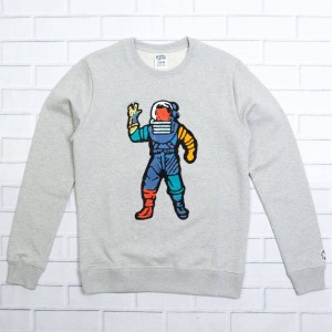 Billionaire Boys Club Men Astro Crew Sweater (gray / heather)
