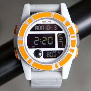 Nixon x Star Wars Unit Watch - BB8 (orange / black)