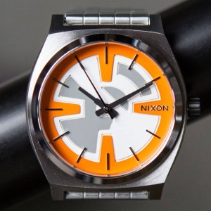 Nixon x Star Wars Time Teller Watch - BB8 (orange / black)