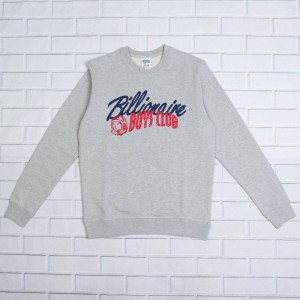 Billionaire Boys Club Men Phase 1 Crew Sweater (gray / heather)