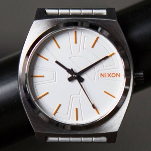 Nixon x Star Wars Time Teller Watch - BB8 Silver (silver / orange)