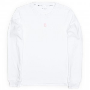 BAIT Women Fishtail Sweater (white)
