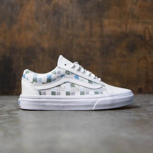 Vans Women Old Skool DX - Tiles (white / leather / true white)
