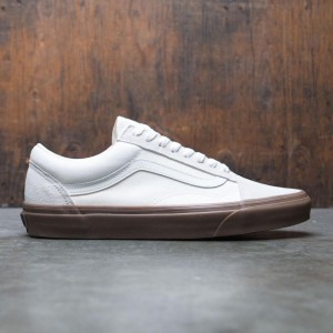 Vans Men Old Skool - Suede (white / gum)