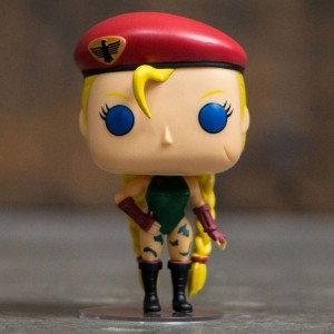 Funko POP Games Street Fighter - Cammy (green / red)