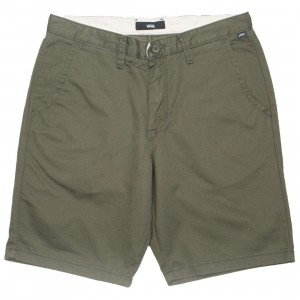 Vans Men Authentic Stretch Shorts (green / grape leaf)