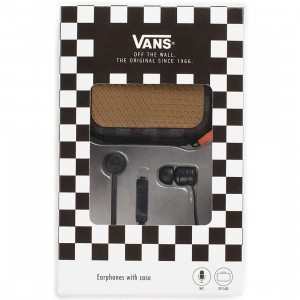 Vans Ear Phones With Case (black)