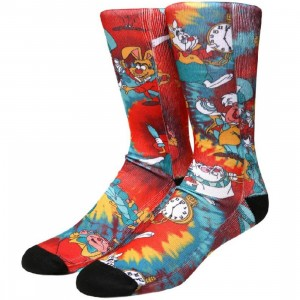 Vans x Disney Wonderland Crew Socks (black / wonderland)