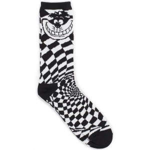 Vans x Disney Cheshire Cat Socks (black)