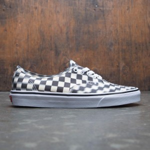 Vans Men Authentic - Blur Check (black / white)