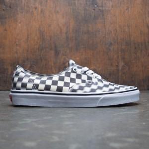 Vans Men Authentic - Blur Check (black / white)