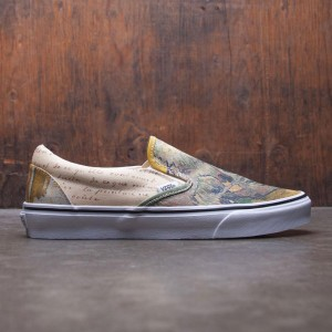 Vans Men Classic Slip-On - Van Gogh (brown / letters / turtledove)