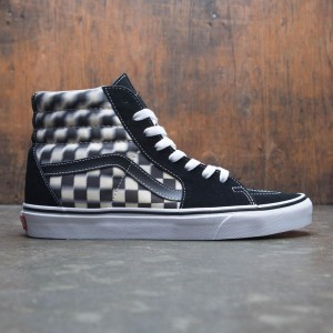 Vans Men SK8-Hi - Blur Check (black / white)