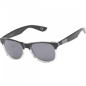 Vans Spicoli 4 Shades Sunglasses (black / clear)