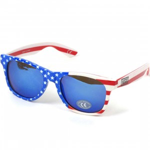 Vans Spicoli 4 Shade Sunglasses (red / white / blue)