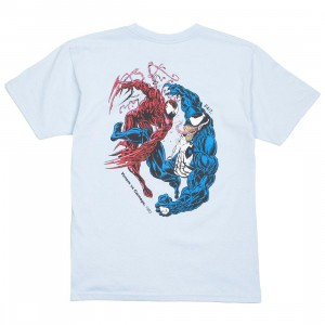 BAIT x Marvel Comics Men Carnage Vs Venom Tee (blue / baby blue)