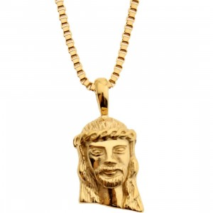 Veritas Aequitas Nazareth Necklace (gold)