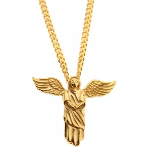 Veritas Aequitas Vigiles Necklace (gold)