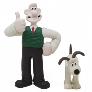 Medicom UDF Aardman Animations Series 1 Wallace And Gromit - Wallace And Gromit (white)