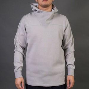 Adidas x Wings + Horns Men Bonded Linen Hoodie (gray / solid grey)