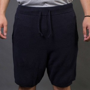 Adidas x Wings + Horns Men Linear Shorts (navy / night navy)